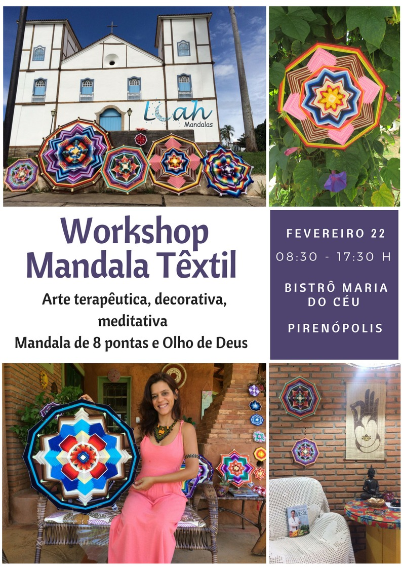 Workshop Mandala Têxtil
